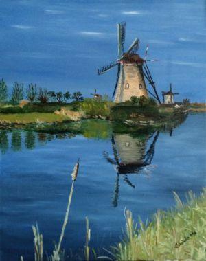 015. Mlyny Kinderdijk